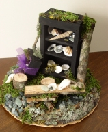 Woodland Fairy Setting with Cabinet