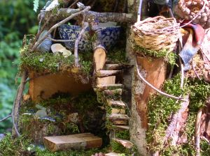 Custom fairy houses