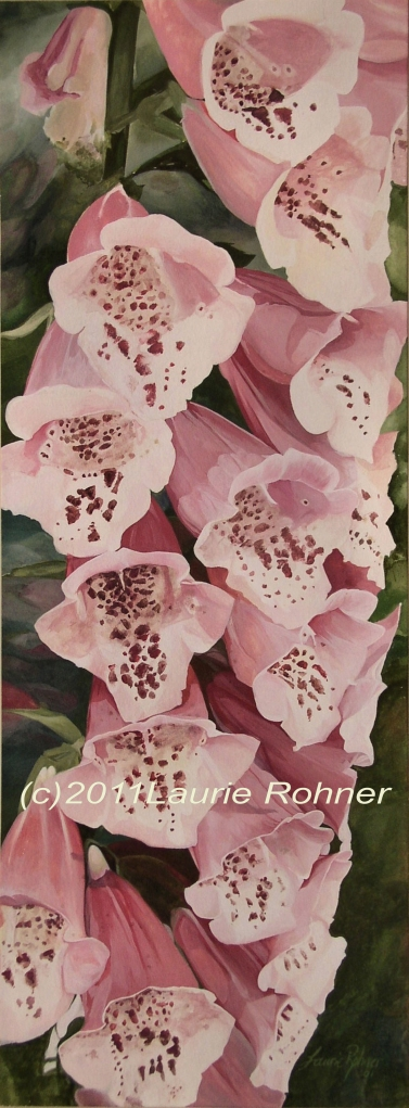 Watercolor Botanical by Laurie Rohner