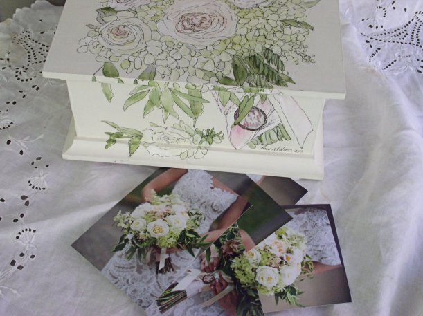 Painted Keepsake Box and Photos