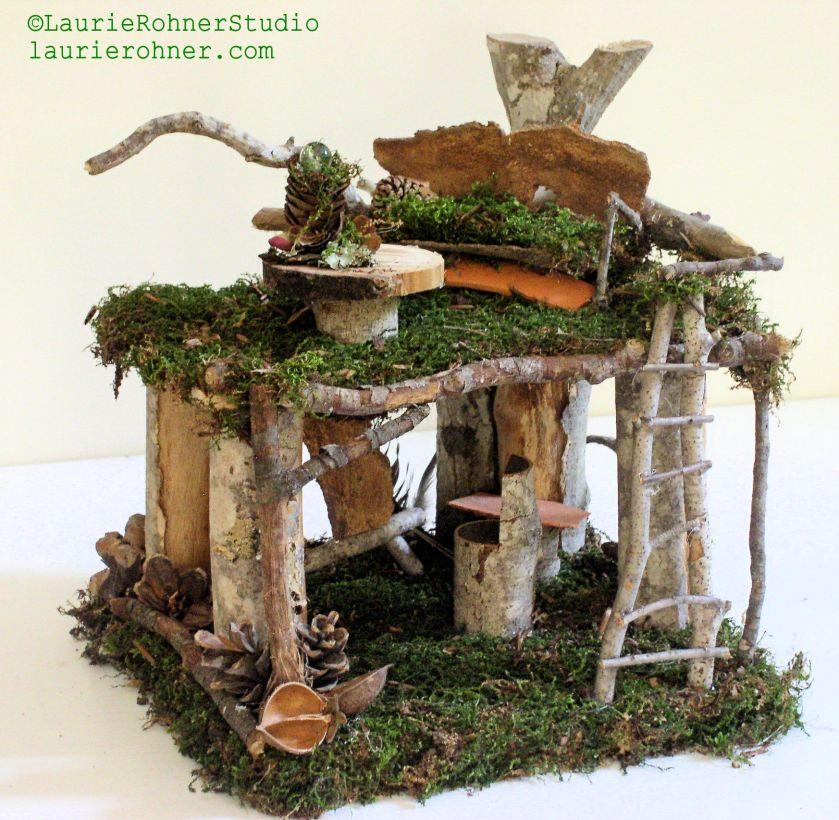 Woodland Fairy House