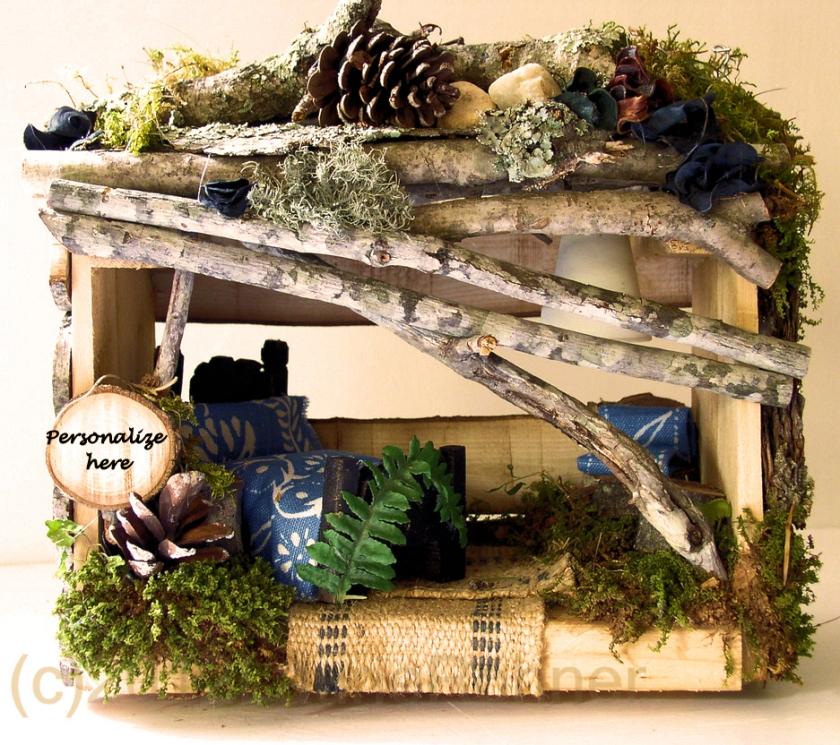 Woodland Wedding Fairy House