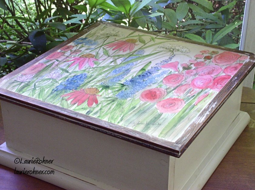 Painted Furniture Large Nature Box