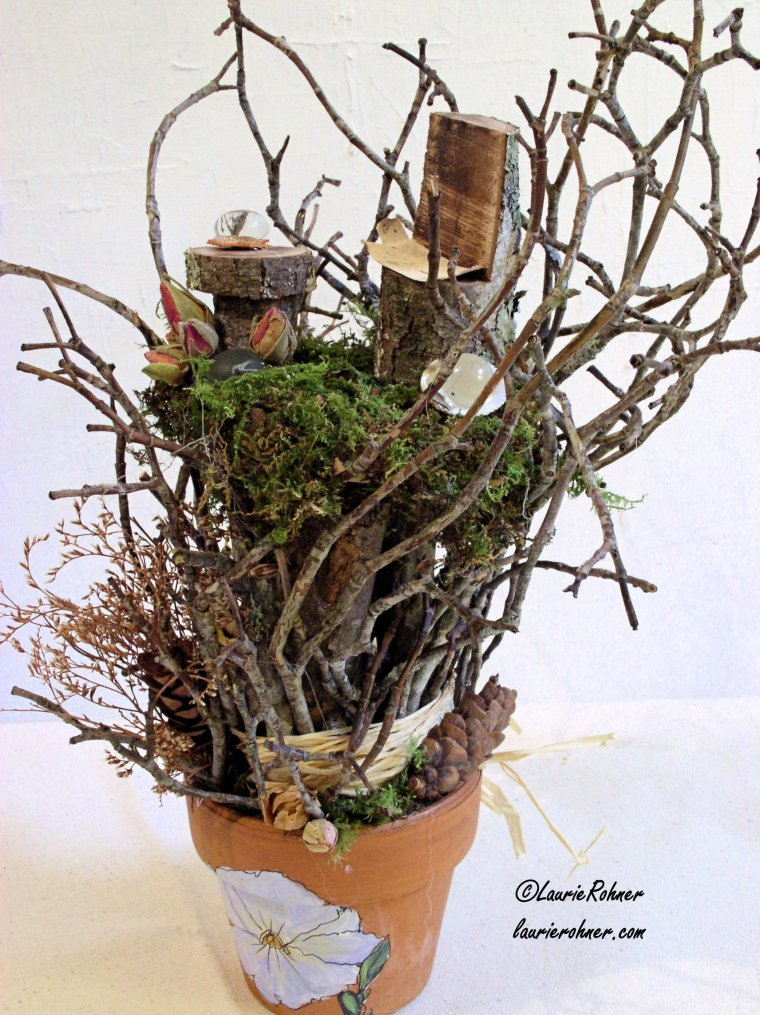 Woodland Fairy House table setting by Between The Weeds