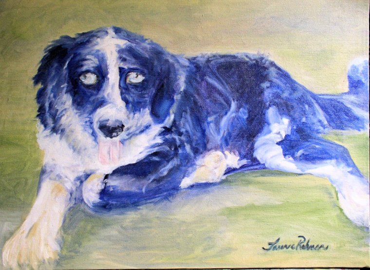 Original oil painting by Laurie Rohner