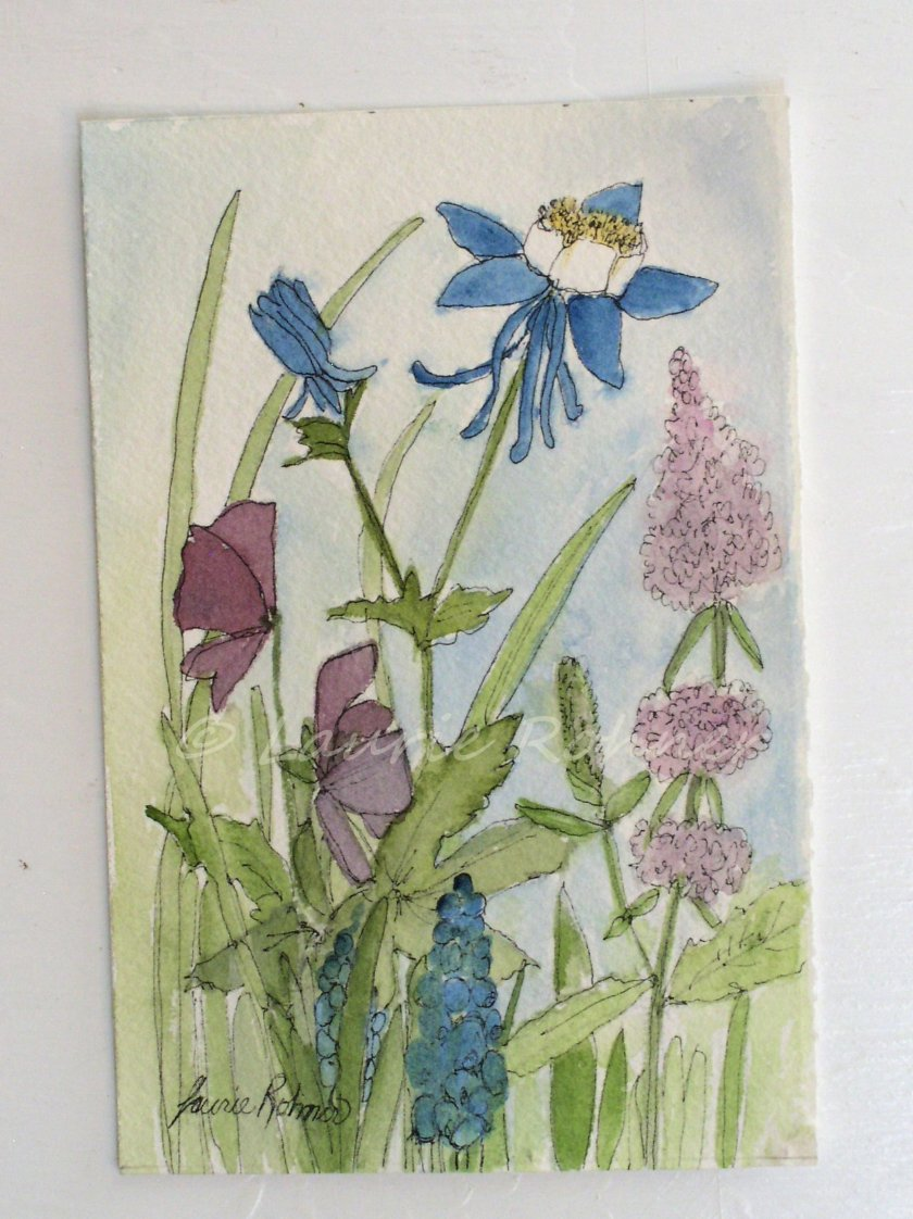 Botanical Garden Flower Art