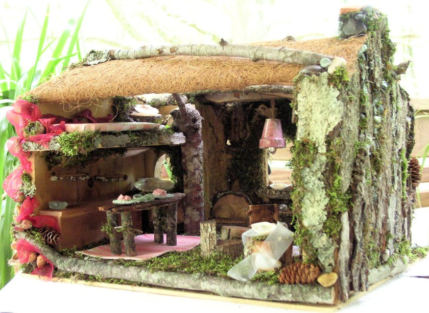 Custom Made Woodland Fairy House