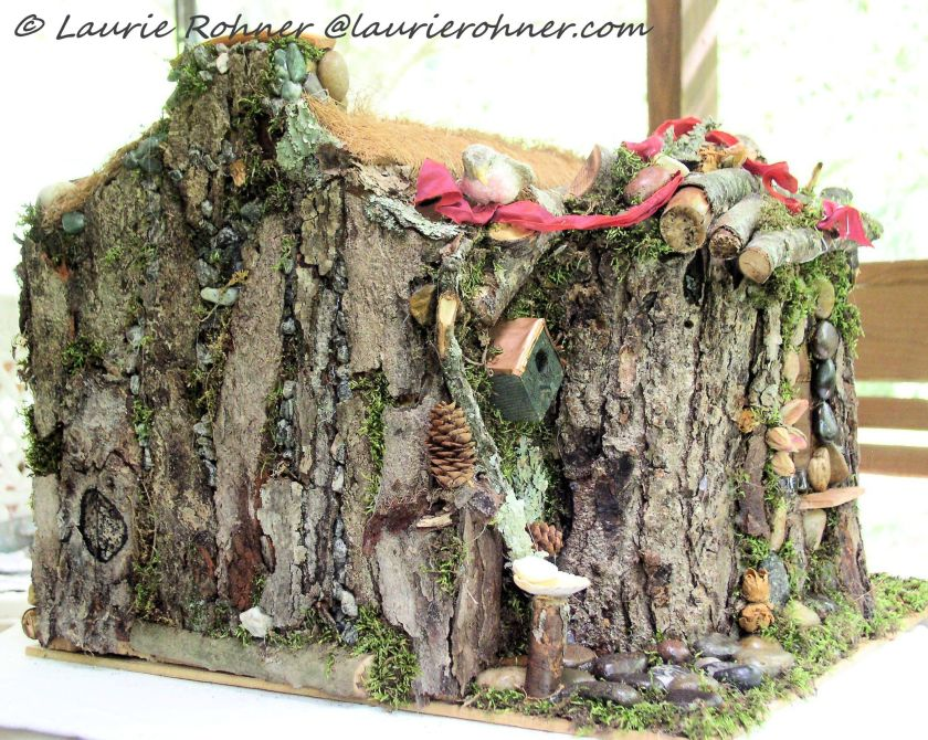 Custom Enchanted Wood Fairy House