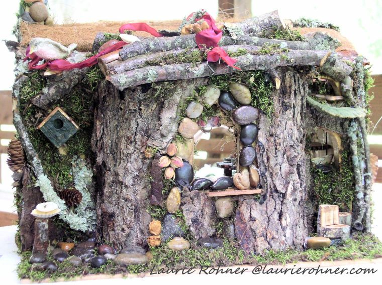 Handmade One of a Kind with Fairy Furniture for Between The Weeds