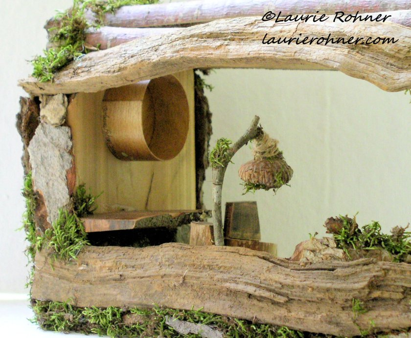 fairy house close up