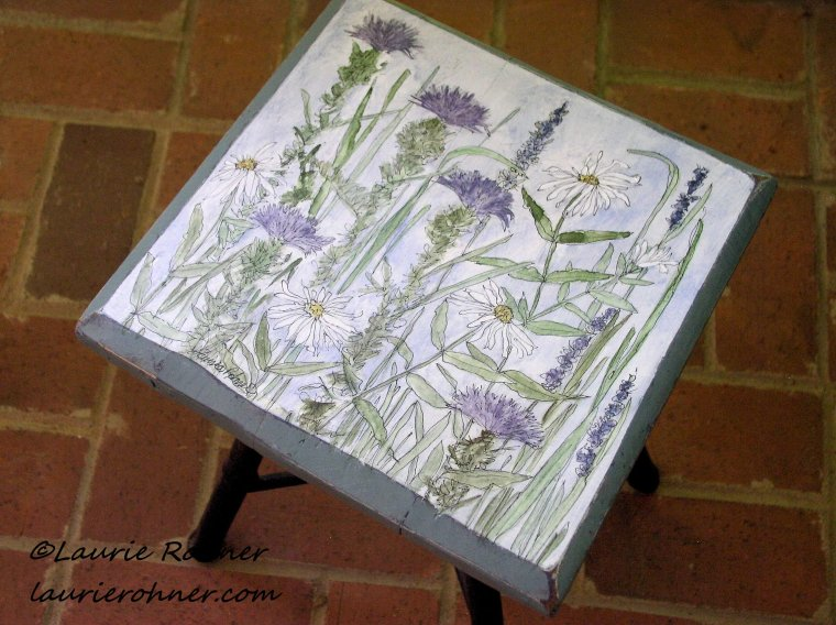 Hand Painted Furniture Custom