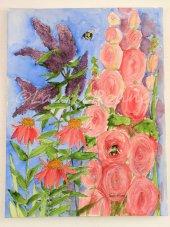 Watercolor Original Botanical Art