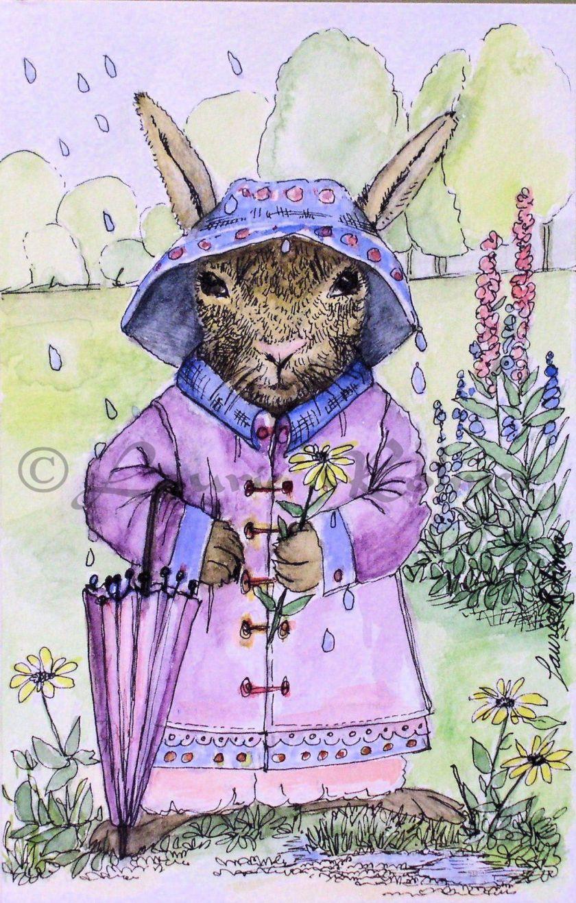 Watercolor Nature Illustration Art