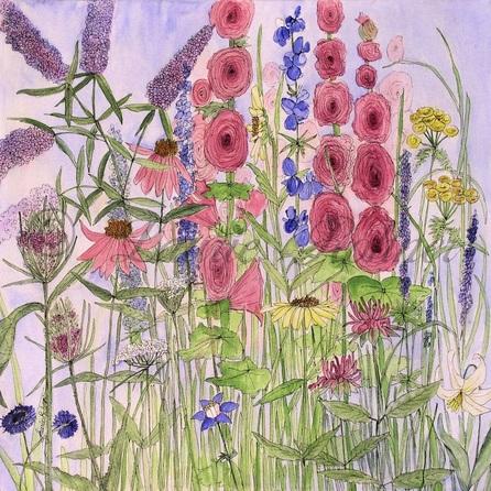 Illustration Acrylic Botanical Art