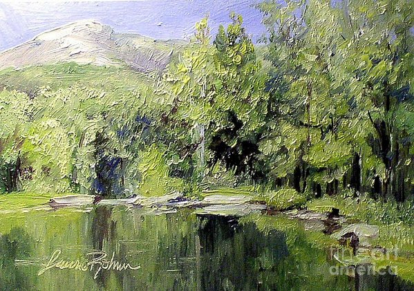 Reflections print by Laurie Rohner.
