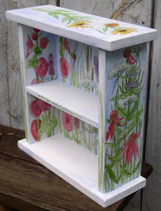 Painted Farmhouse Shelf