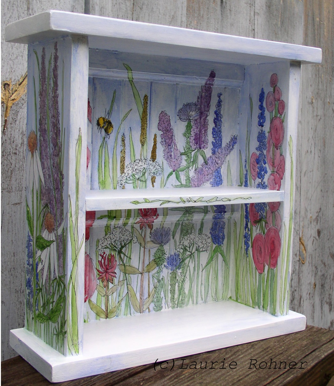 Shop for hand painted furniture at Between The Weeds Etsy