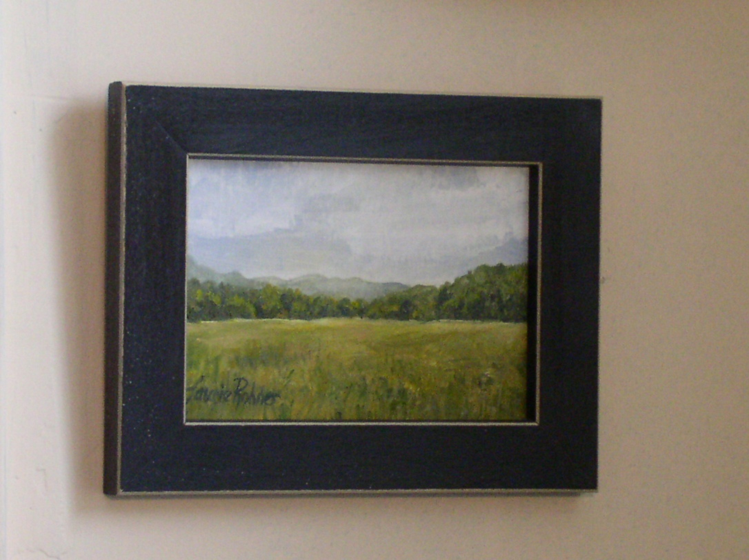 Original oil painting landscape by Laurie Rohner